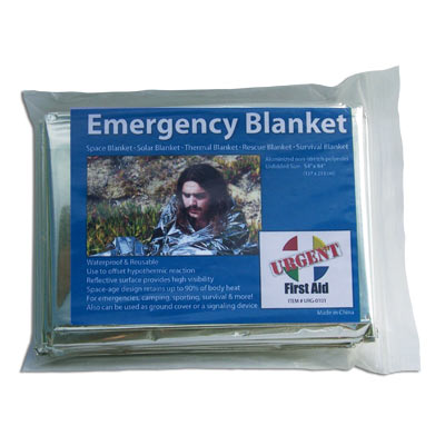 Urgent First Aid Emergency Blanket